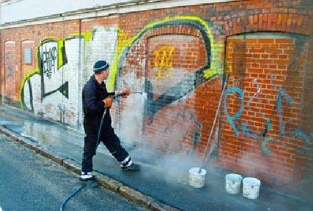 Limpieza de Grafittis en Madrid